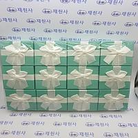 민트 방석 종이케이스